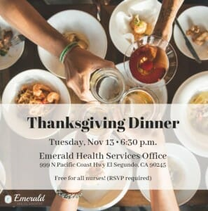 emerald thanksgiving